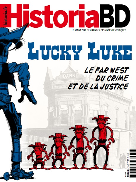 Historia BD n° 2. Lucky Luke, le far west du crime et de la justice